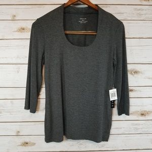 Grace | Heather Gray Top